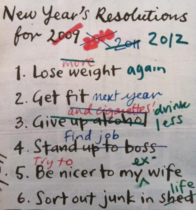 Как осуществить новогодние решения